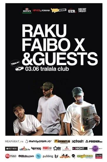 raku, Faibo X & guests @ Tralala Club