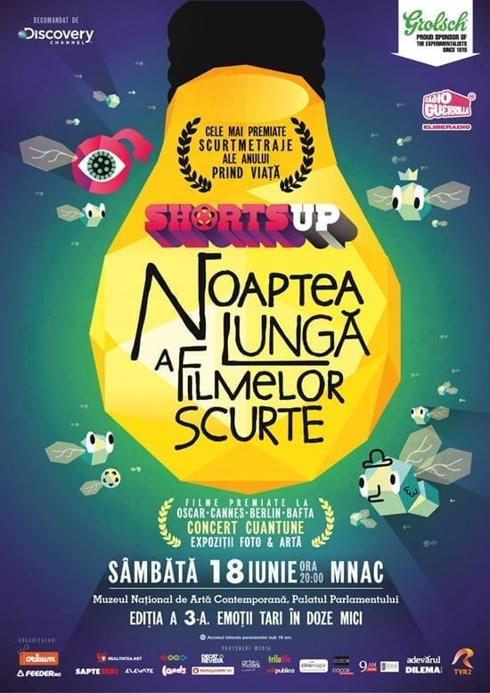 ShortsUP prezinta Noaptea Lunga a Filmelor Scurte 2011 @ MNAC