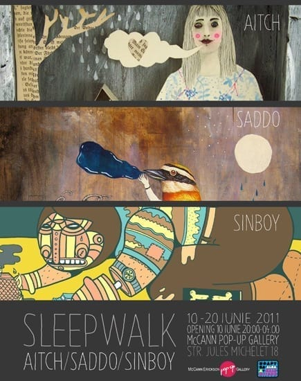 Sleep Walk @ McCann