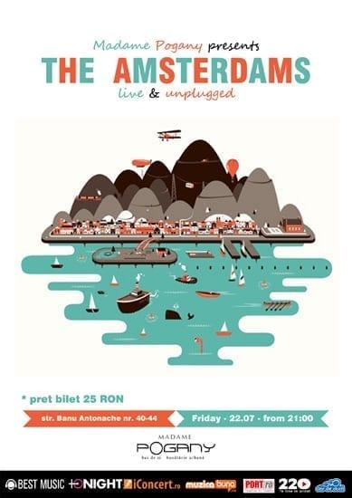 The Amsterdams unplugged @ Madame Pogany