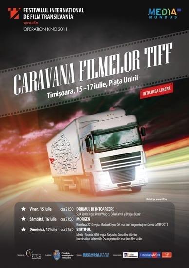 Caravana Filmelor TIFF 2011 @ Timisoara