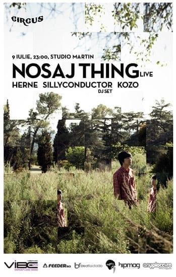 Nosaj Thing @ Studio Martin