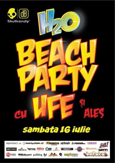Beach Party cu Ufe si Ales @ Plaja H2O