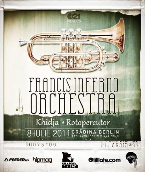 The Francis Inferno Orchestra @ Gradina Berlin