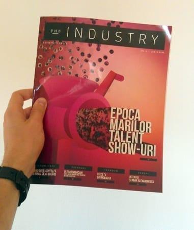 A aparut nr pilot din The Industry, revista de media condusa de Iulian Comanescu