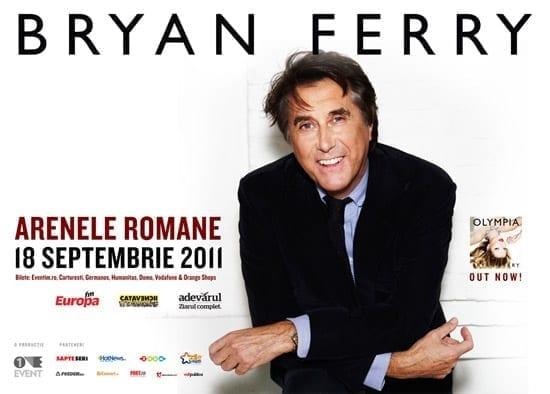 BRYAN FERRY @ Arenele Romane