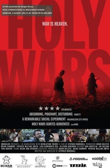 """Proiectie """"Holy Wars"""" @ Noul Cinematograf al Regizorului Român"""