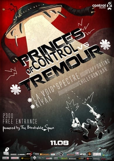 Princes of Control – The Battles! @ Control