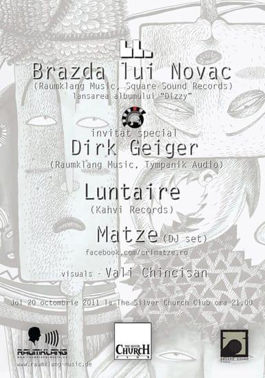 """Lansarea albumului nr.2 Brazda lui Novac - """"Dizzy"""""""