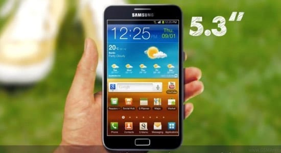 Samsung Galaxy Note - graninta dintre mobil si tableta?