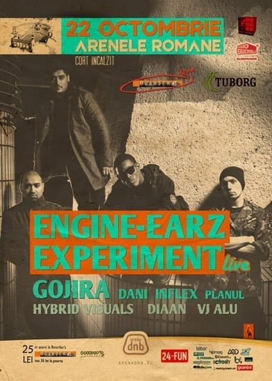 Engine-EarZ Experiment LIVE @ Arenele Romane