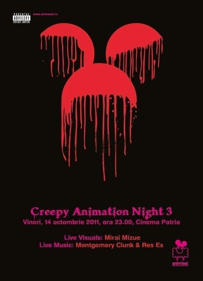 Creepy Animation Night 2011 @ Cinema Patria