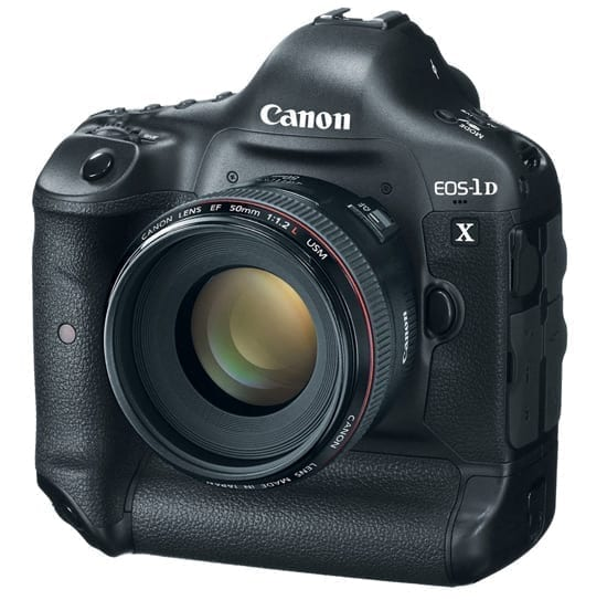 Canon a anuntat noul EOS-1D X
