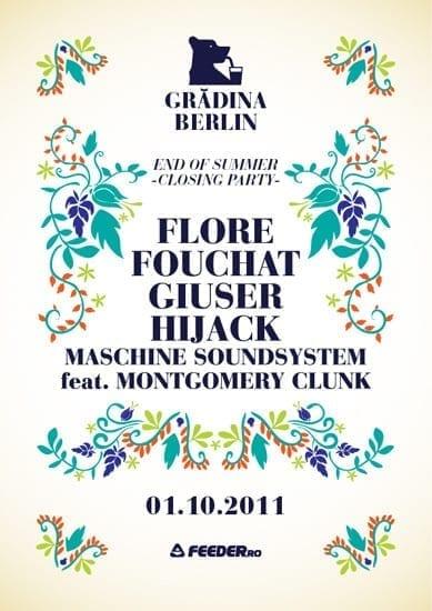 Gradina Berlin - End of the summer - Closing party
