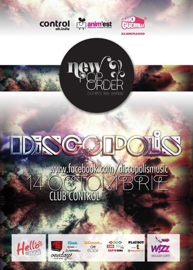 New Pop Order cu Discopolis @ Control