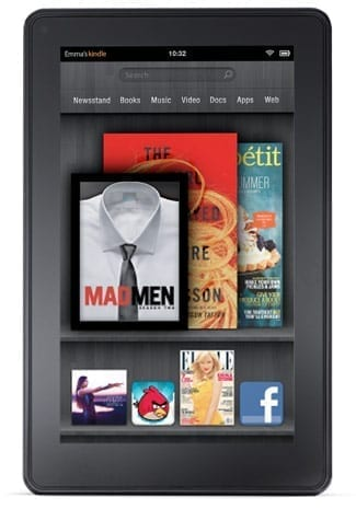 Kindle Fire, noua tableta de la Amazon