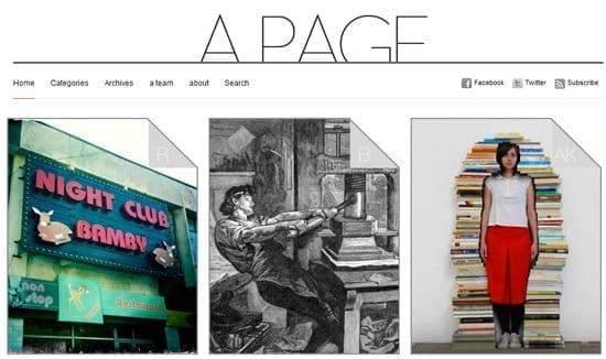 Un nou proiect interesant: aPage