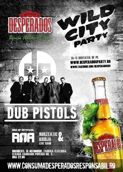 Desperados WILD CITY Party @ Fabrica Electrica