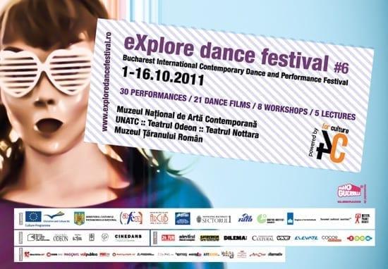 Program eXplore dance festival 2011