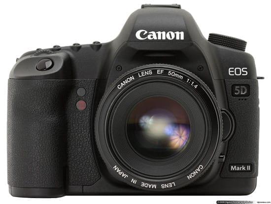Castiga un Canon EOS 5D Mark II!