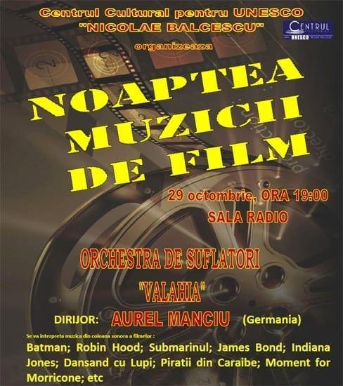 Noaptea muzicii de film @ Sala Radio 2011