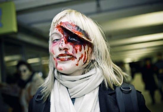 Zombie Walk in Estonia