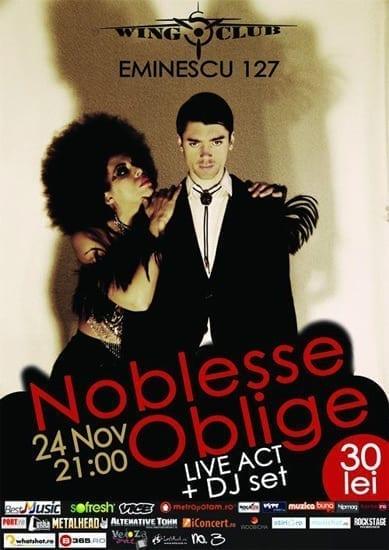 Noblesse Oblige @ Wings Club
