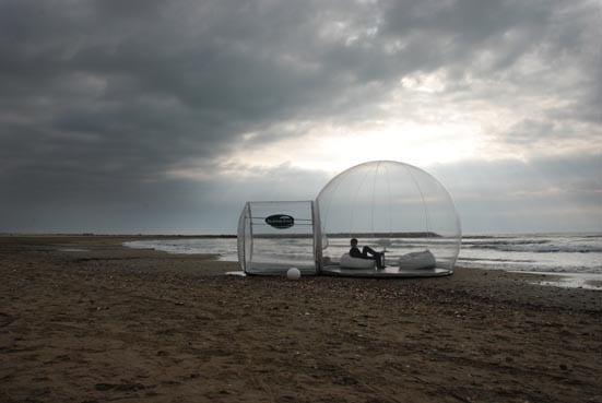 Crystal Bubble Portable Home