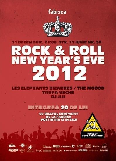 Rock'N'Roll New Year's Eve 2012 @ Club Fabrica