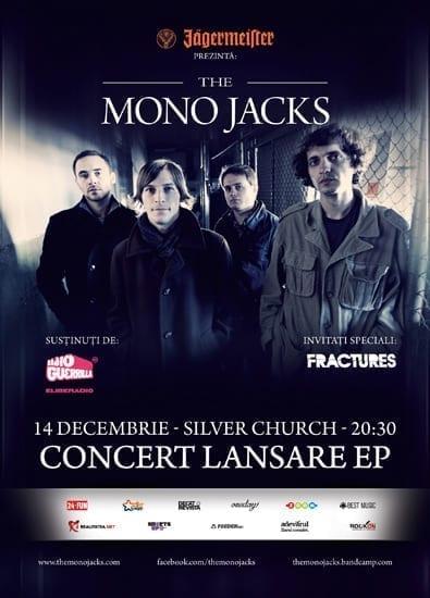 THE MONO JACKS lanseaza FORTUNES EP @ Silver Church