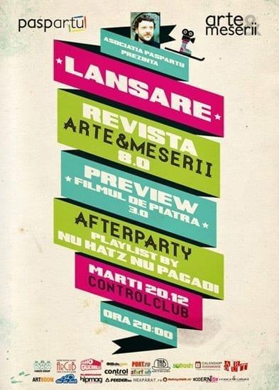 Lansarea Revistei Arte & Meserii 8.0 @ Control
