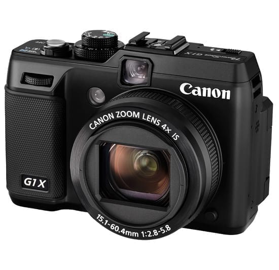 Canon PowerShot G1 X Hands-on Preview