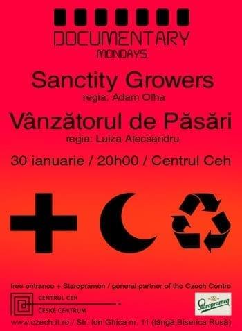 Sanctity Growers & Vanzatorul de Pasari @ Centrul Ceh