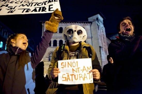 Protestul lui ET