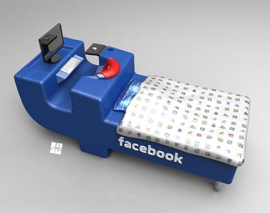 FBed - Patul Facebook pentru cei cu adevarat dependenti