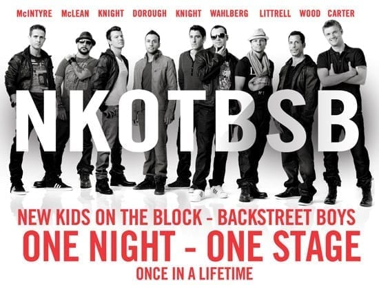 New Kids on the Block + Backstreet Boys = NKOTBSB