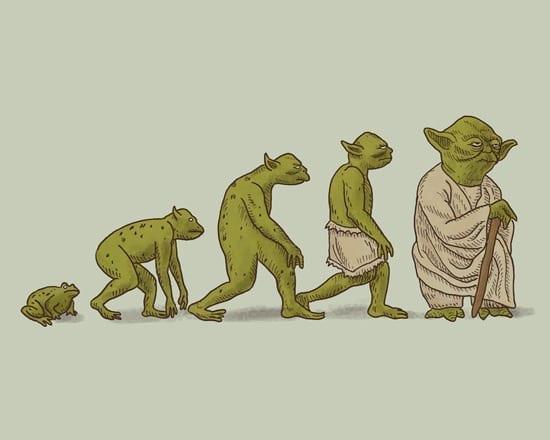 Evolutia lui Yoda