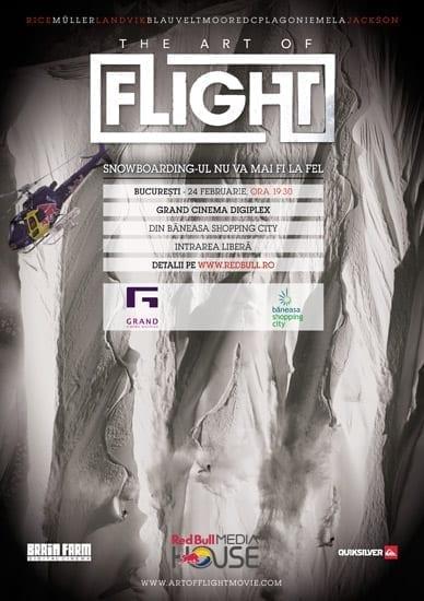 """The Art of FLIGHT"" @ Grand Cinema Digiplex (Baneasa Shopping City)"
