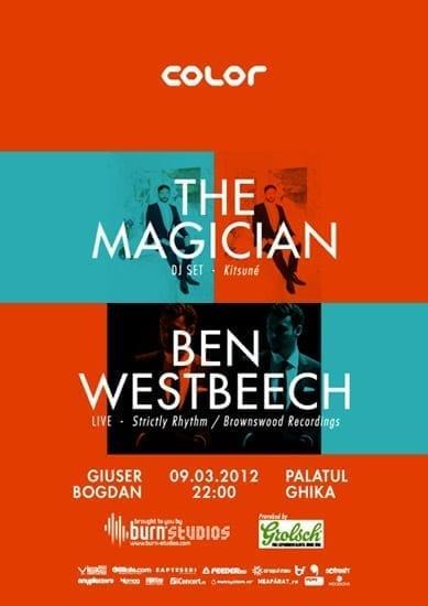 The Magician, Ben Westbeech @ Palatul Ghika