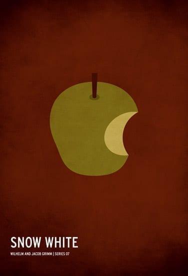 Postere minimaliste pentru povesti celebre • Feeder.ro