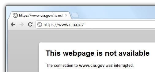 """CIA Tango down"" - site-ul CIA atacat de hackerii Anonymous"