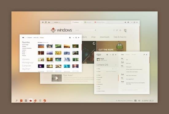 O propunere de design foarte interesanta pentru Windows 8