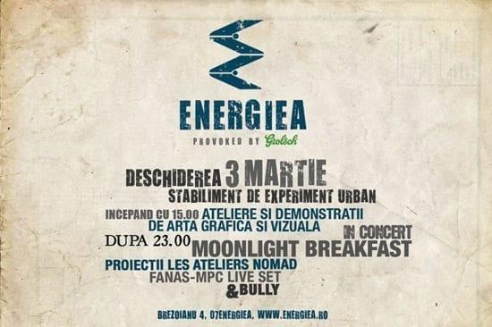 Energiea Pub (provoked by Grolsch) - un nou bar in Bucuresti