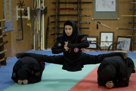 Armata de femei ninja a Iranului