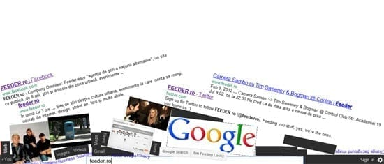 Google Gravity - un Google facut bucati dar inca functional