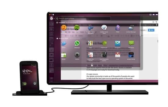 UBUNTU pentru Android - Your next desktop could be a phone