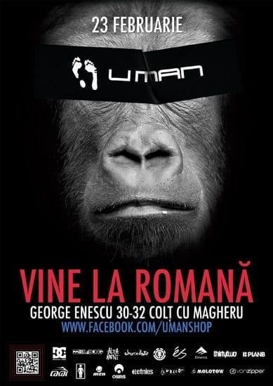 U-man Shop vine in Bucuresti