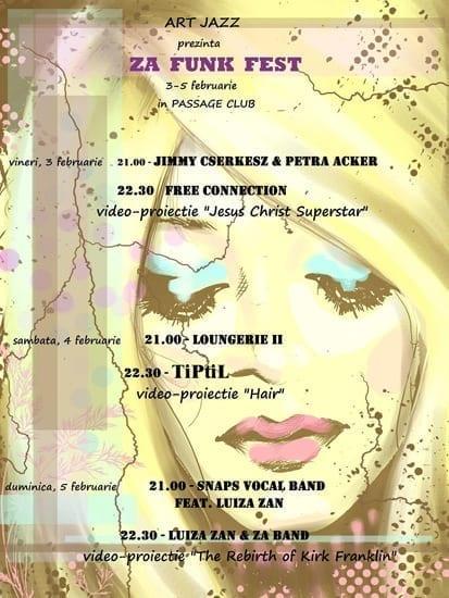 ZA FUNK FEST @ Passage Club
