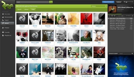 S-a lansat Zonga - un soi de Spotify romanesc