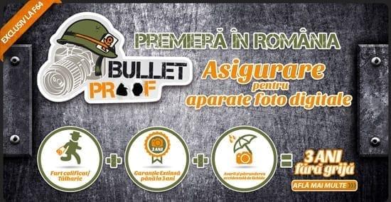 Bulletproof de la F64 - Asigurare Aparate Foto